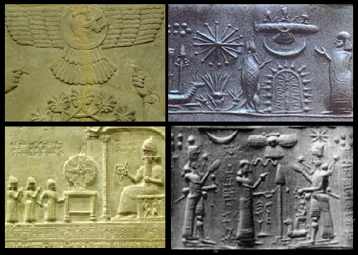 annunaki giants and flying spacecraft in sumerian tablets