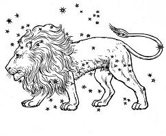 zodiac sign leo the lion