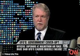 UFO government coverup live on CNN news channel