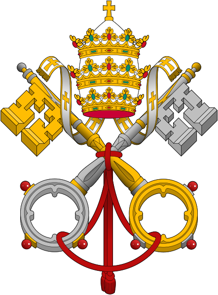 Popes emblem of Papacy