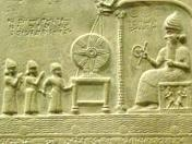 giant anunnaki in sumerian tablet